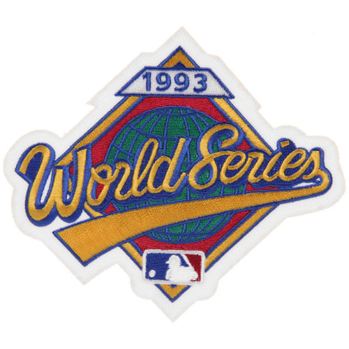 1993 World Series Patch