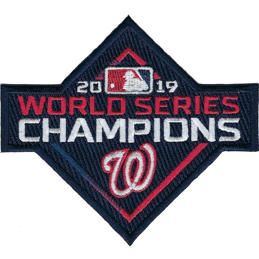 2019 MLB World Series Champions Patch