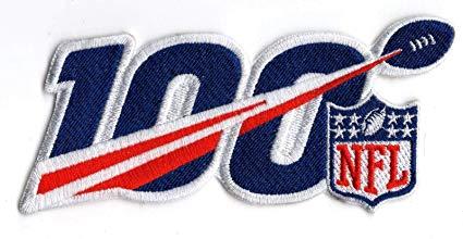 NFL 100TH LOGO