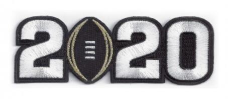 NCAA 2020 Championship Patch