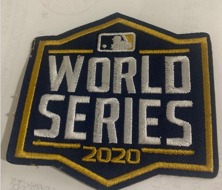 MLB 2020 World Series Patch