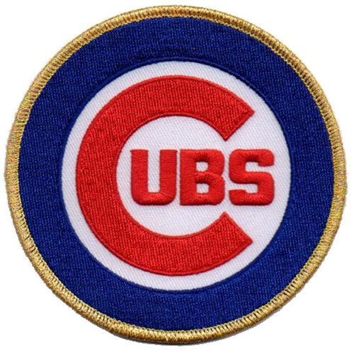 Chicago Cubs 2017 Gold Program Patch