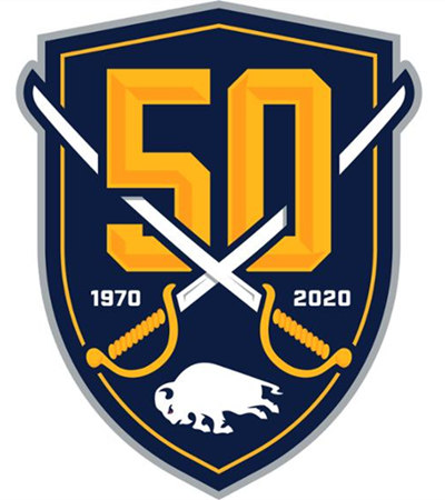 Buffalo Sabres 50TH patch