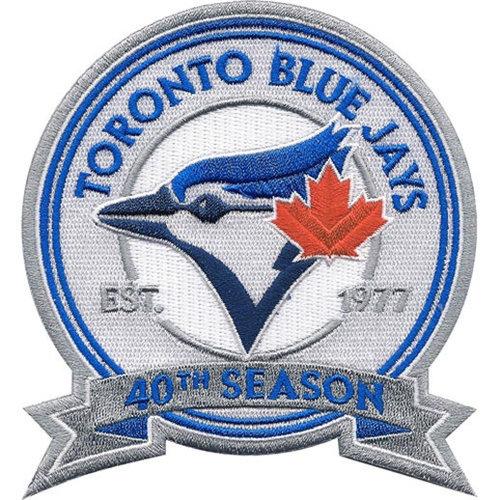 Toronto Blue Jays 40th Patch