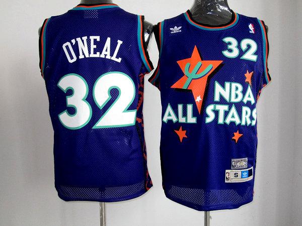 f4902a35c134 NBA 1995-96 ALL-STAR Throwback VINTAGE BASKETBALL Jerseys
